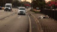 Fatih'te korkunç ölüm: Çarpan otomobil 50 metre ileriye fırlattı