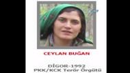 300 bin lira ödülle aranan kadın terörist Ceylan Buğan öldürüldü