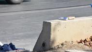 Mendil satıcısı beton mikserinin altında kalıp can verdi
