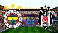 Fenerbahçe Beşiktaş derbisinin ilk 11'leri belli oldu