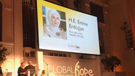ABD'de Emine Erdoğan'a insani yardım liderliği ödülü