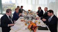 Erdoğan ile Merkel kahvaltıda bir araya geldi!