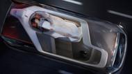 Volvo'nun sürücüsüz yataklı otomobili görücüye çıktı