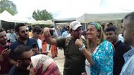 Tuğba Özay Akdamar Adası'nda  ne yapıyor?