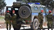 Rus askeri polisi Menbiç görevine başladı