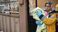 Komşuya sığındılar! 7 aylık kızını dövmesine tepki gösteren eşini de dövdü