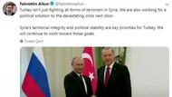 Erdoğan Putin zirvesinden önce Beştepe'den flaş mesaj