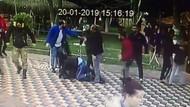 Genç çifte önce laf attılar sonra tekme tokat saldırdılar