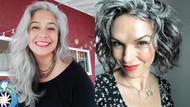 Kadınlar artık saçlarını boyamıyor