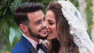 Rüzgar Erkoçlar ile eşi Tuğba Beyazoğlu'ndan aşk pozu