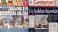Barış Pınarı Harekatı'nı gazeteler nasıl gördü?