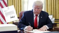Trump'ın Erdoğan'a yazdığı mektup çöpe atıldı