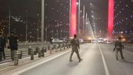 Silahla köprüde trafiği durdurdu! Özel harekat köprüyü çift yönlü ulaşıma kapattı