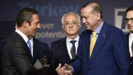 Fenerbahçe'den Cumhurbaşkanı Erdoğan'a divan rozeti