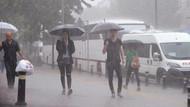 Meteoroloji'den sağanak yağış uyarısı!