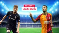 Derbide Beşiktaş Galatasaray'ı konuk ediyor! iddaa'da Tek Maç, Canlı Bahis