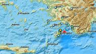 Akdeniz'de 5 büyüklüğünde deprem: Kısa süreli panik oldu