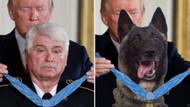 Trump Vietnam gazisinin yerine köpeği montajladı