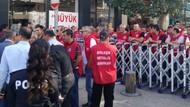 Zeytinoğlu işçileri AKP il binasına yürümek istedi: Polis durdurdu