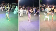 Düğünde twerk dansıyla olay yaratan dansöz gözaltına alındı