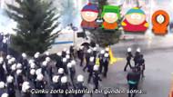 South Park Çin zulmü diye Türk polisinin TOMA'lı müdahalesini gösterdi