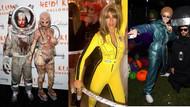 Ünlülerin birbirinden ilginç Cadılar Bayramı kostümleri