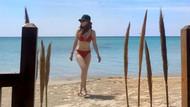 Mine Tugay bikinili fotoğrafıyla sosyal medyayı salladı
