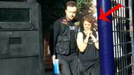 Karaköy'de başörtülü öğrenciye saldıran kadın adliyeye sevk edildi