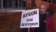 Eşiyle barışmak için İstanbul'dan Ankara'ya yürüyor