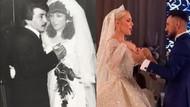 Selin Ciğerci annesinin düğün fotoğrafını paylaştı