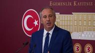 Muharrem İnce: CHP'deki bir çetenin şerefsizce bir saldırısı