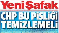 Sabah, Yeni Şafak, Türkiye ve Star gazeteleri Saraya giden CHP'li polemiğinde aynı başlıkla çıktı