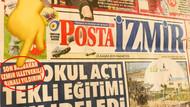 Posta gazetesi manşetinde skandal hata: İzmir illetvekili Binali Yıldırım