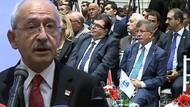 Ahmet Davutoğlu Kılıçdaroğlu'nun konuşma yaptığı dernekte görüntülendi