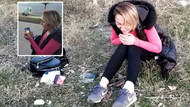 Samsun'da kocasının cep telefonuna gönderdiği videoyu görünce dondu kaldı