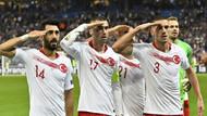 UEFA'nın kararı: Asker selamı veren Türkiye A Milli Futbol Takımı oyuncularına ceza yok