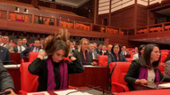 CHP'li kadın vekillerden Meclis'te Soylu'ya Las Tesis protestosu