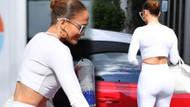 Jennifer Lopez spor tarzıyla beğeni topladı