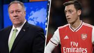 Pompeo'dan Mesut Özil'in Uygur Türkleri tepkisine destek