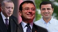 AKP'nin en beğenilen siyasetçi anketinde yine İmamoğlu ve Demirtaş var