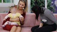 Esra Erol Burcu Şahin'i bebeğine kavuşturdu