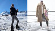Kar tatili sezonunu açtılar! Bu şıklığın bedeli 12 bin TL