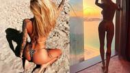 Rize'nin yengesi Irina Moroziuk'tan tangalı paylaşım
