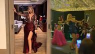 Selin Ciğerci mini elbisesiyle kalça dansı yaptı