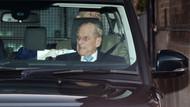 Prens Philip'in hastane çıkışı korkutan görüntüsü