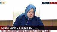 Asgari ücret 2324 lira oldu, Türk-iş masayı terk etti