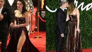 İngiliz moda ödüllerine iç çamaşırsız katılan Bella Thorne gözleri şaşı etti