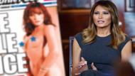 ABD çıplak first leydi Melania Trump kitabıyla sallanıyor