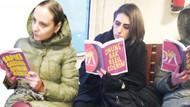 Kitap kalkanı! Tacize karşı yeni yöntem mi