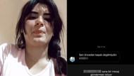 Hanife Gürdal takipçisinin yorumunu tükürerek eleştirdi